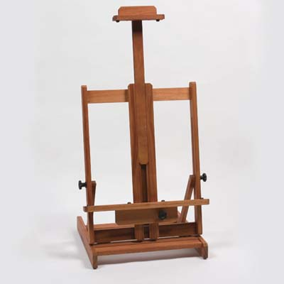 painting easel to use as display for your flatscreen tv