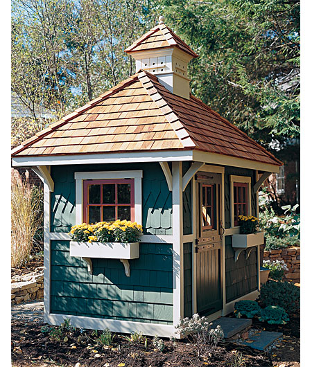 Great Adaptations Inspiration Potting Shed