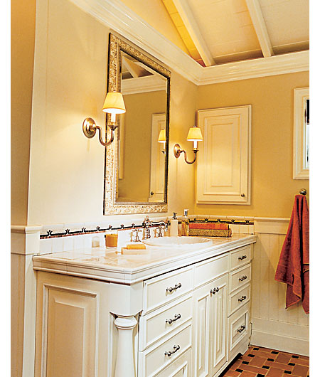 Custom-built Vanities