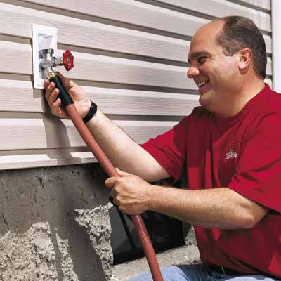 Freeze Proof Exterior Faucets Easy Fall Prep For A Warm