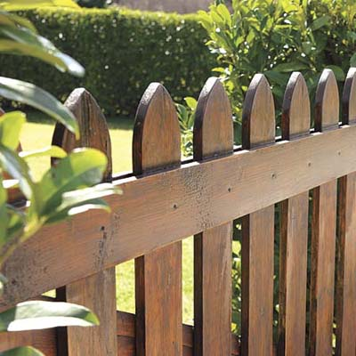 Where To Use Stain Fences All About Exterior Stain