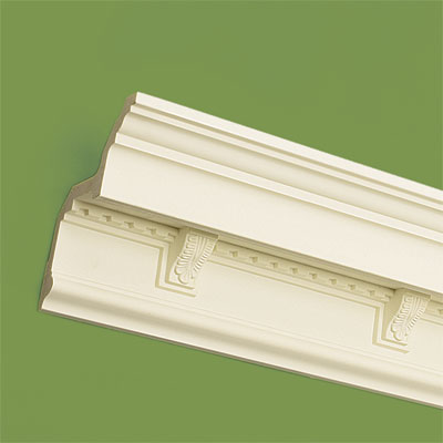 crown molding made of polyurethane foam