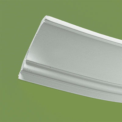 crown molding made of flexible polyurethane