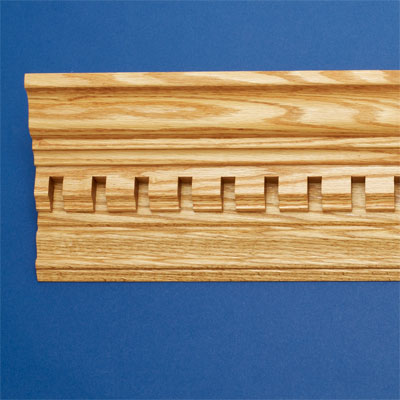 Distinguished Dentils style crown molding
