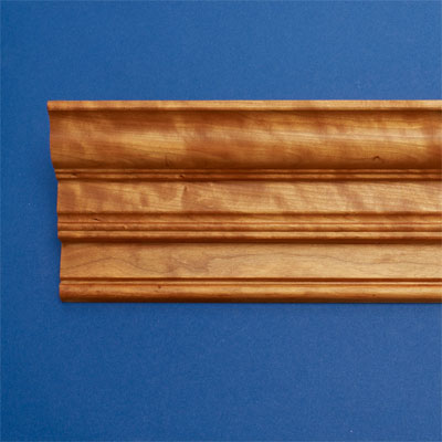Double Bead style crown molding