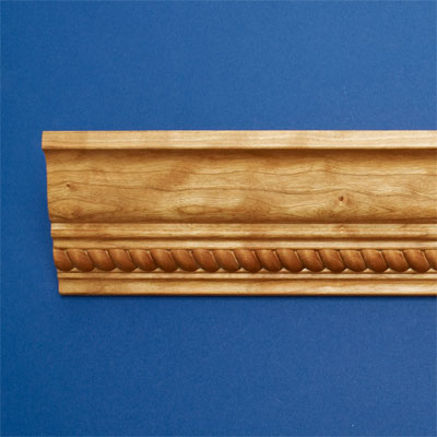 Rope Border style crown molding
