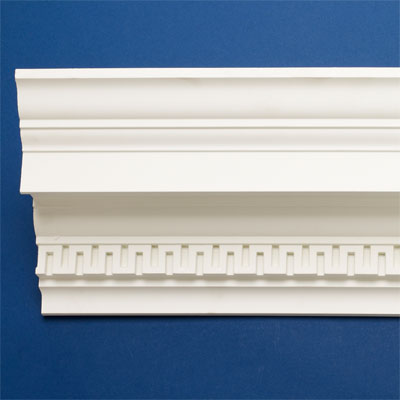 Greek Key style crown molding