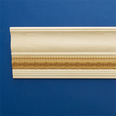 Beads and Curls style crown molding