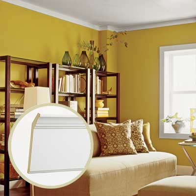 crown molding for contemporary style homes