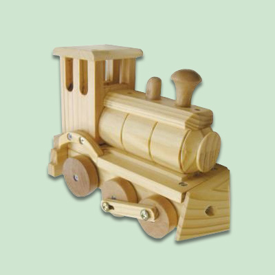 Locomotive Easy Diy Woodworking Kits For Kids Toys