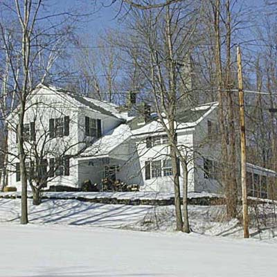 example of a best old house in the neighborhood of bennington vermont