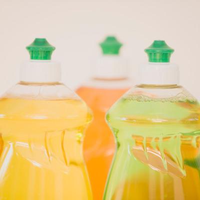 dish soap bottles