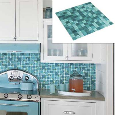 four hue glass tile