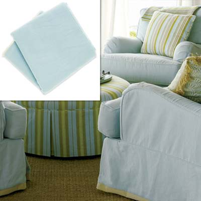 machine washable cotton slipcover fabric