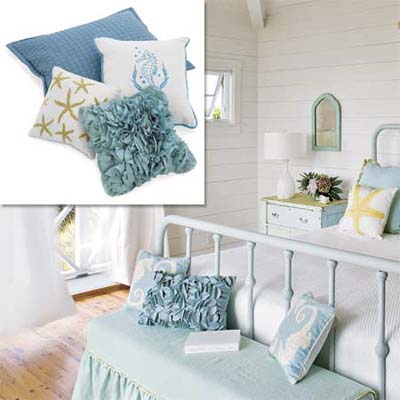 accessories with ocean themed designs