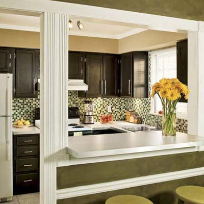 Paint cabinets instead of replacing them top 10 budget for Small kitchen remodel on a budget