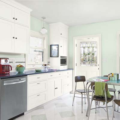 remodeled vintage style kitchen