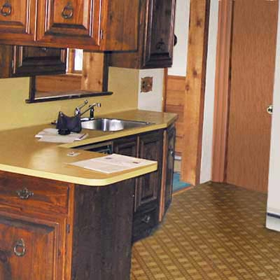 nineteen seventies style kitchen
