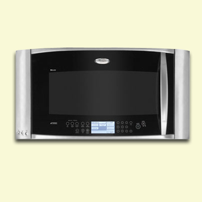 whirlpool gee two speed cook microwave