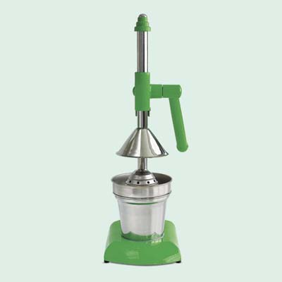 vintage-look countertop lime squeezer