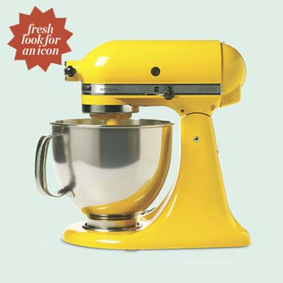 vintage-look kitchen-aid mixer