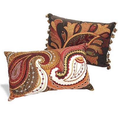 paisley pillows from pier one imports