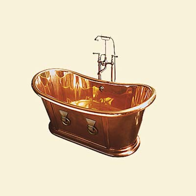 custom copper bathtub
