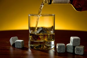 Whiskey Stones, which are soapstone ice cubes