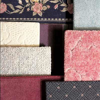 different styles of wall to wall carpeting