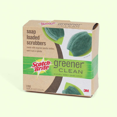 Scotch-Brite Soap Loaded Scrubbers