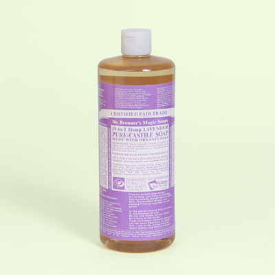 Dr. Bronner's Pure-Castile Soap