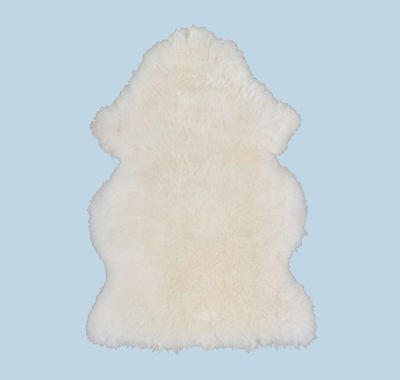 faux sheepskin rug by ikea