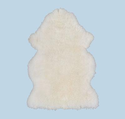 faux sheepskin rug by ikea