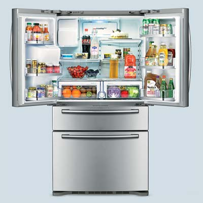 samsung stainless steel french door refrigerator
