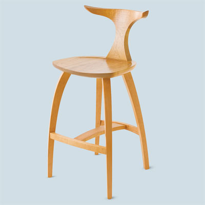 meridian stool by thos. moser