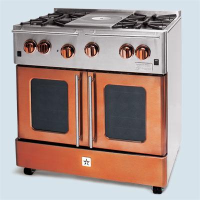 bluestar oven range