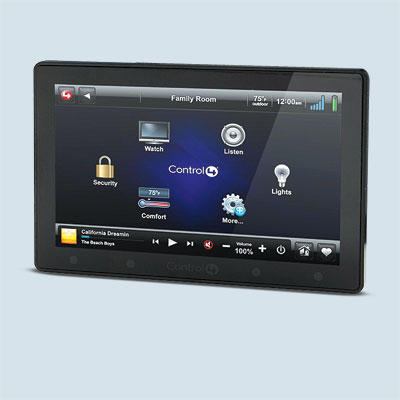 touch screen home automation by control four