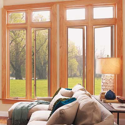 fiberglass and wood windows by milgard
