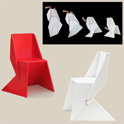 papton style folding chair