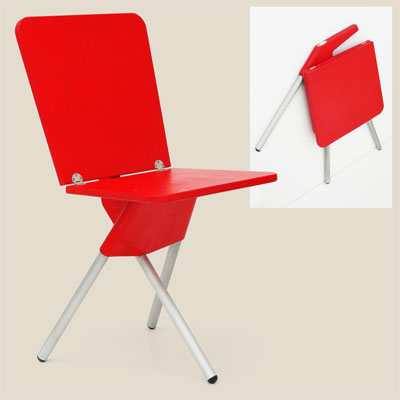walker style folding chair