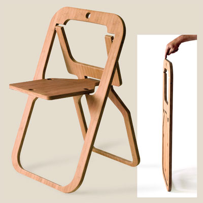 desile style folding chair