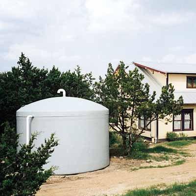 rain water collection with rain barrels