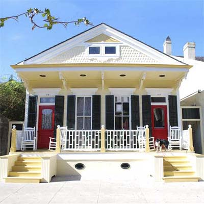 updated yellow victorian house exterior