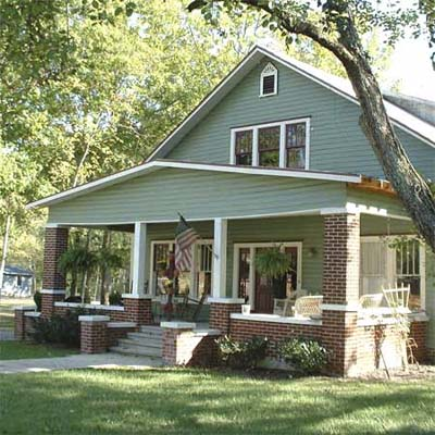 renovated house with large front porch