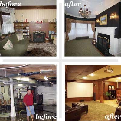 renovated family rooms