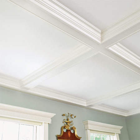 Coffered Ceiling A Detail Oriented Renovation And