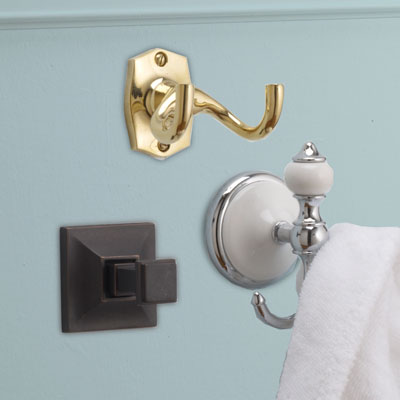 3 types of robe hooks