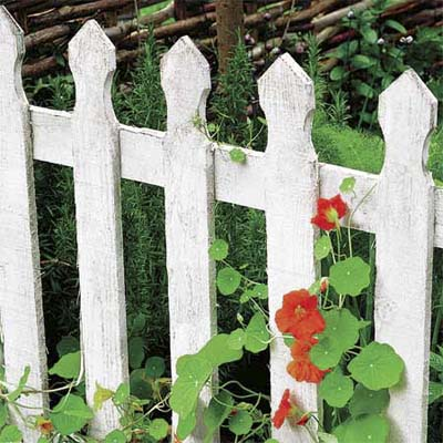 example of a picket fence