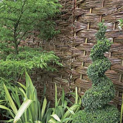 exampleof a wattle fence design