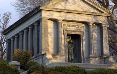 Huntington Mausoleum at Woodlawn Cemetery, Bronx, NY